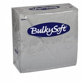 BulkySoft Table Top Servietten - 100% Zellstoff - 2-lagig - 1/4-Falz - farbig
